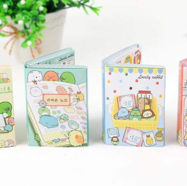 (預購S) 韓國超可愛角落生物N次便利貼一本120張