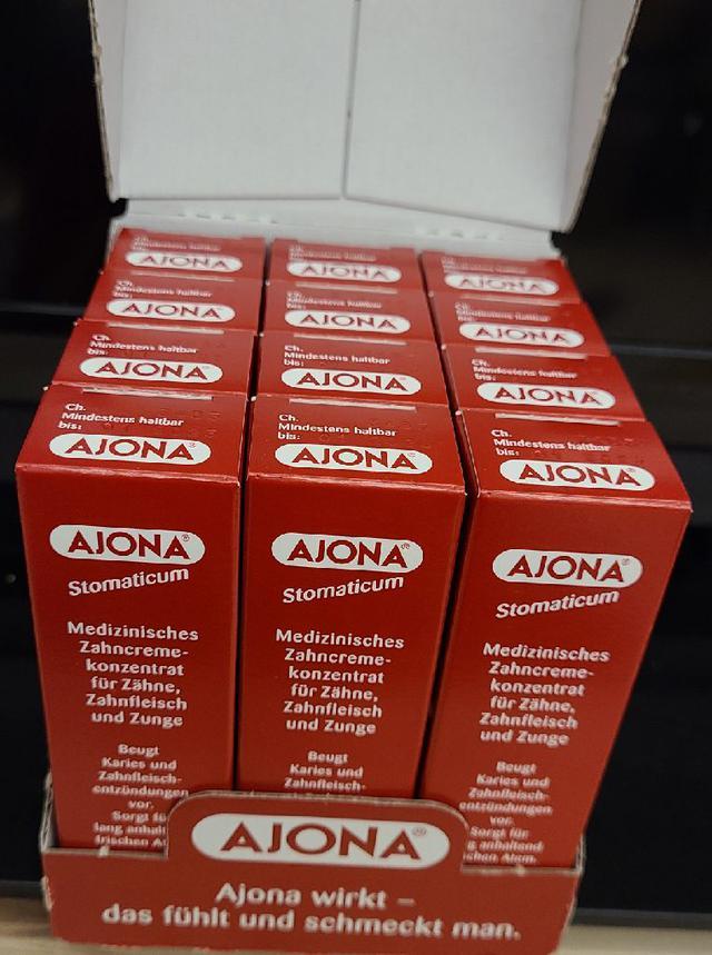德國🇩🇪AJONA濃縮 藥用牙膏 25ml