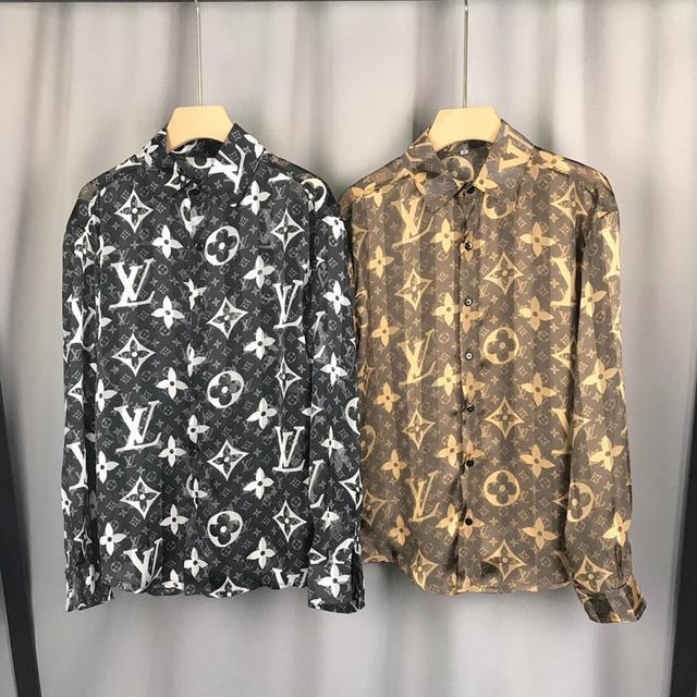 【精品男士襯衣】2021新款長袖襯衣 襯衫3D數碼印花
