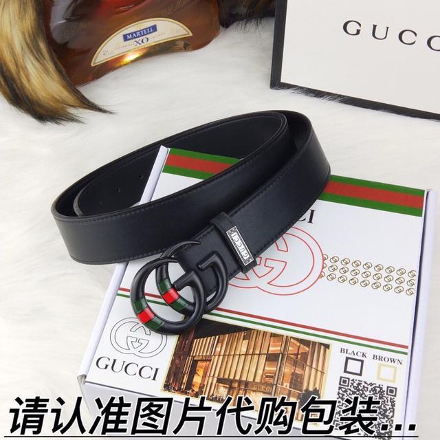 Gucci 100%双色纯钢扣