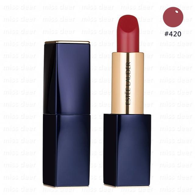 【Estee Lauder 雅詩蘭黛】絕對慾望奢華潤唇膏 2.8g #420 (公司貨)