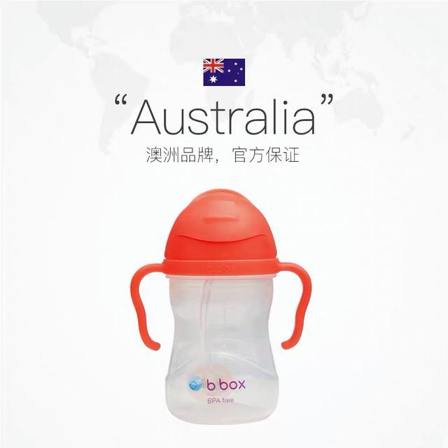 《預購》澳洲bbox兒童吸管杯寶寶重力球防漏防摔飲水杯帶柄240ml