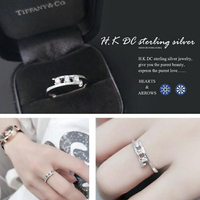 釘子八心八箭三鑽圓繞設計款精品戒指