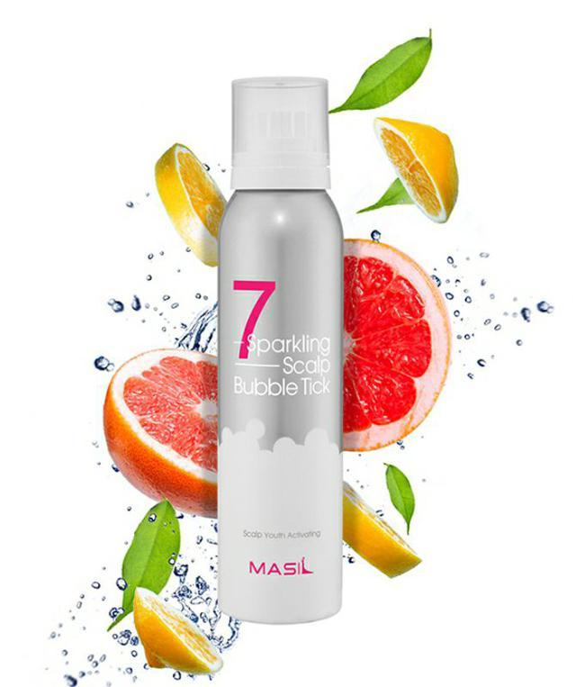 韓國 MASIL 7奇 降溫滋養 泡泡慕斯150ml~髮++ 清涼舒爽不黏膩 頭皮營養 免沖洗