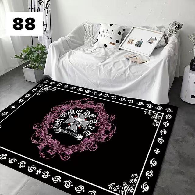 潮牌地毯臥室網紅可愛少女心滿鋪床邊客廳房間飄窗家用衣帽間地墊