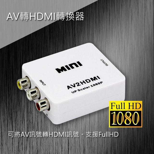 AV轉HDMI轉換器 HDMI-107
