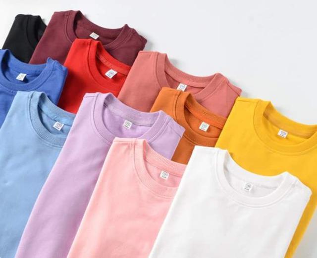 【預購】280克兒童純色打底衛衣