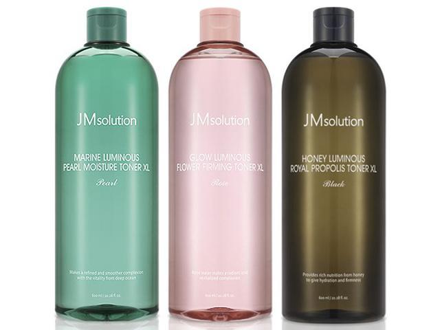 韓國 JMsolution 海洋珍珠溫和保濕/水光玫瑰補水滋潤/水光蜂蜜補水緊緻 大容量化妝水