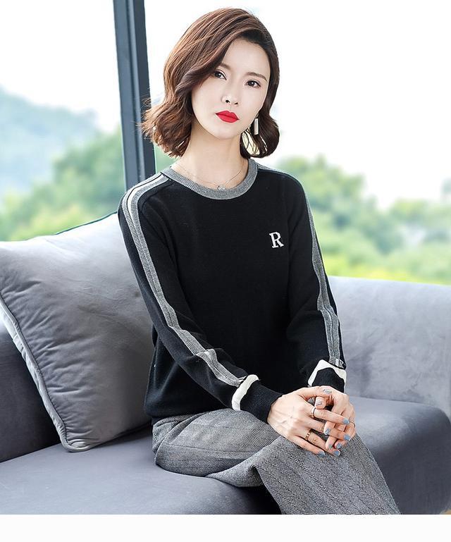 11 加厚冬針織衫(五色)