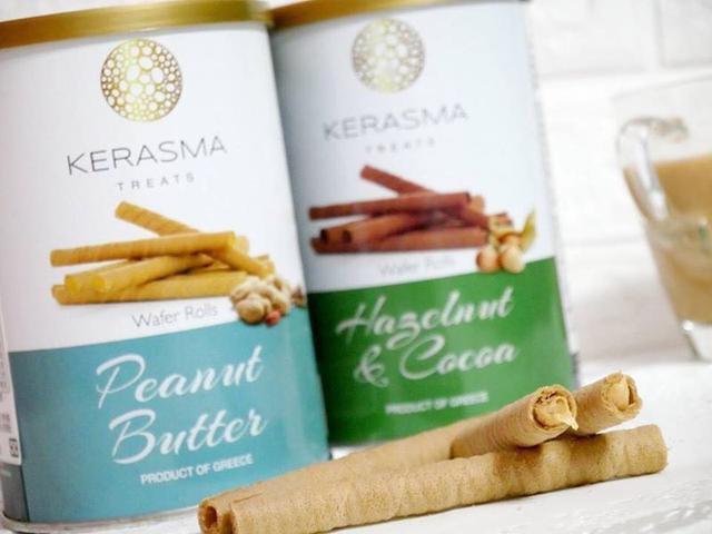 希臘Kerasma捲心酥 陳昭榮💕直播的網紅餅乾