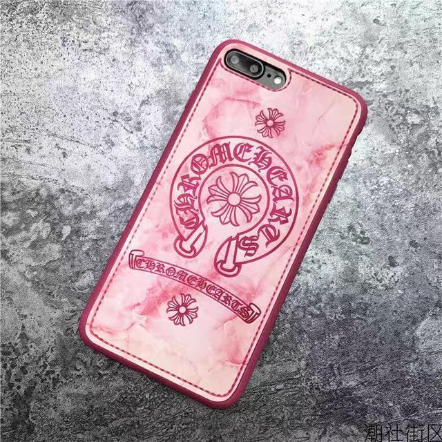 潮牌8plus蘋果11 promax克羅心iPhoneXSmax手機殼se皮質XR女7情侶