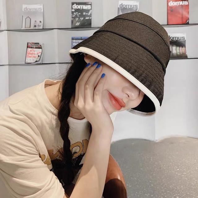 A014 韓版流行時尚漁夫遮陽帽(三色)