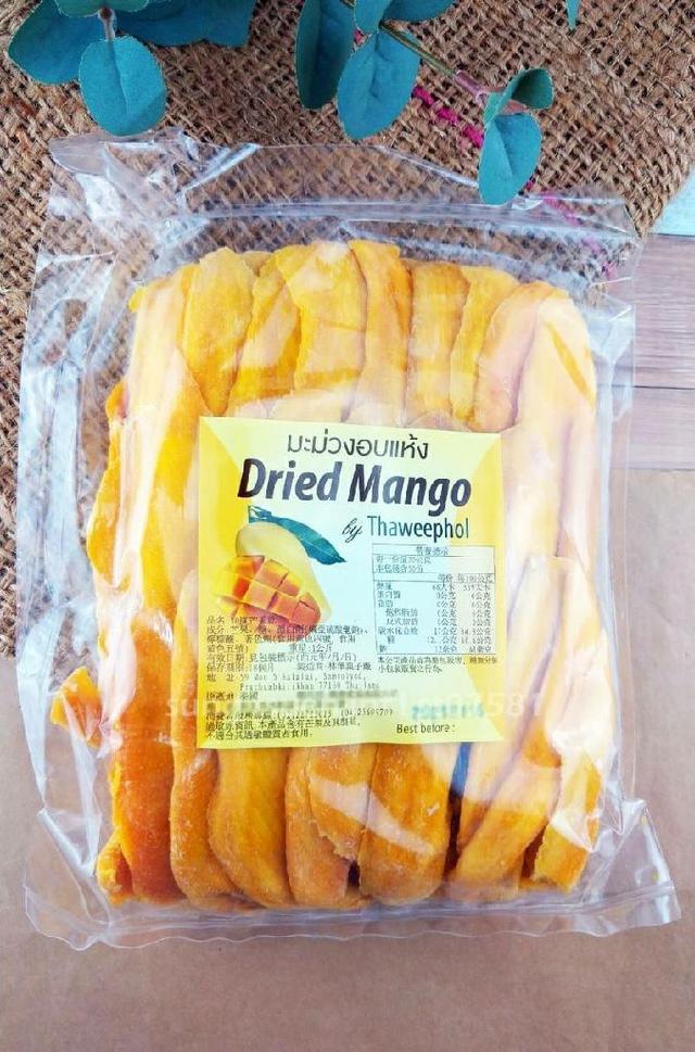 泰國 Dried Mango減糖芒果乾1kg