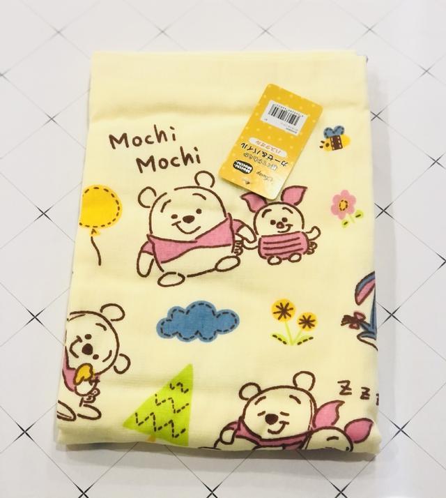 日本迪士尼維尼奇奇蒂蒂小美人魚系列紗布浴巾