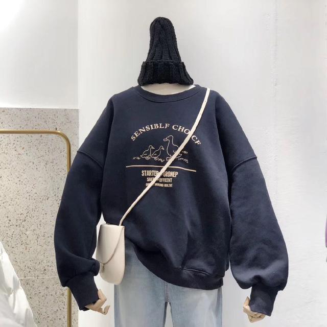 【預購】原宿風加絨上衣