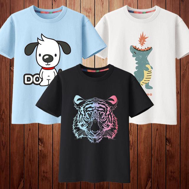 預購/男童夏季半袖短袖t恤(3件一組)