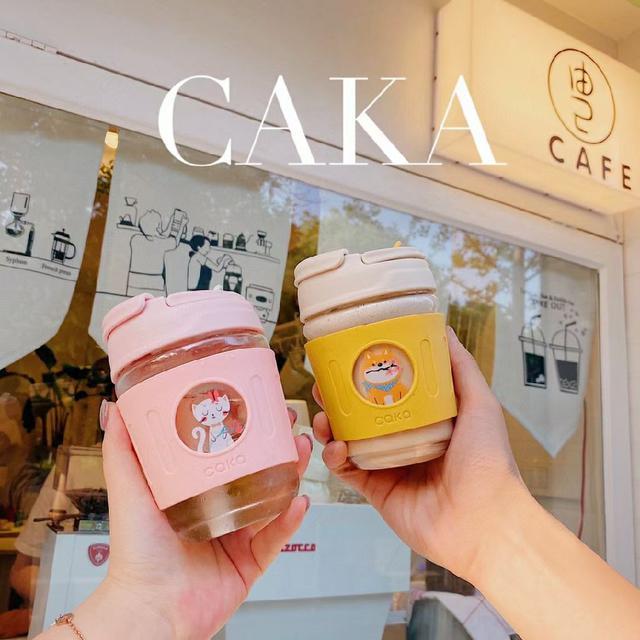 CAKA網紅咖啡杯 350毫升