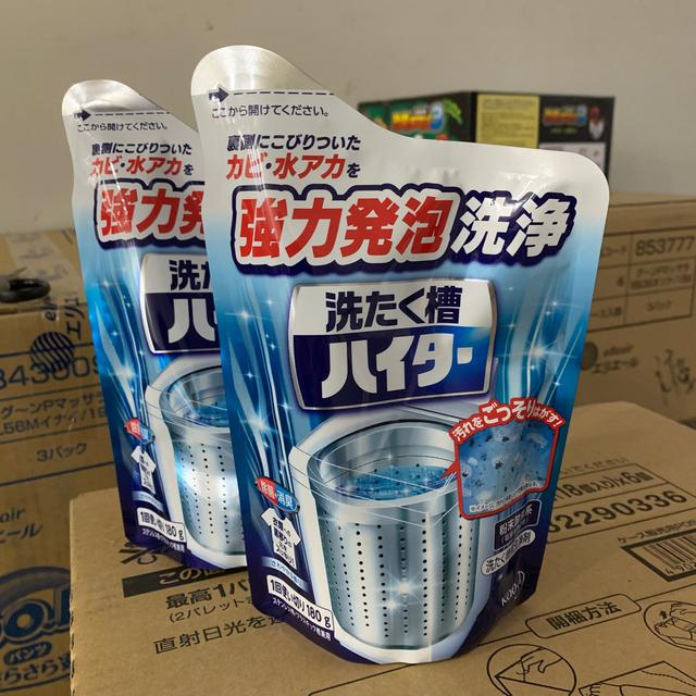 「現貨」日本花王 強力發泡洗油槽清潔粉 180g