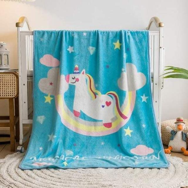 (預購S) G1061 - 兒童幼兒園午睡保暖法蘭絨毛毯
