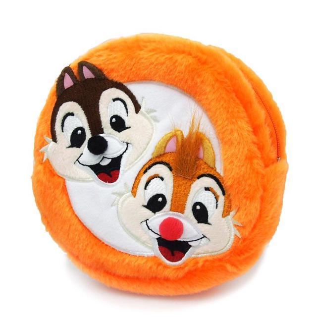 現貨 日本 迪士尼 奇奇蒂蒂 化妝包 零錢包 小物收納