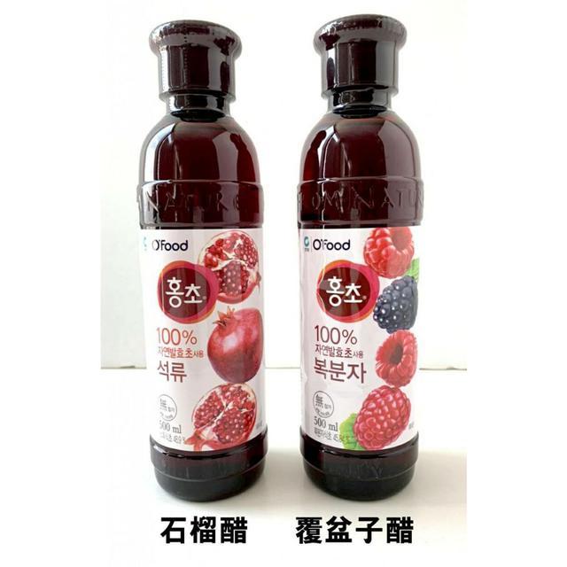 韓國 清淨園 大象 果醋 紅醋系列 500mL