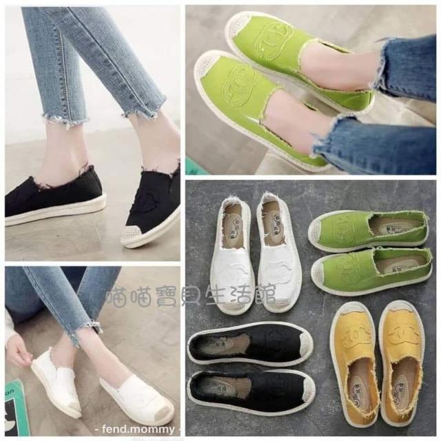 夏季小香懶人鞋