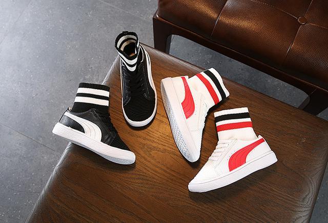 兒童韓版中筒襪子板鞋