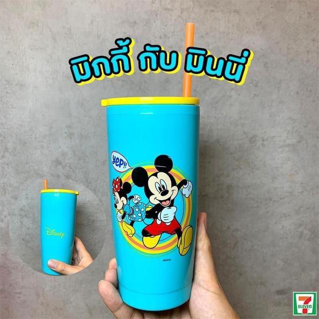 預購032n5-泰國711限量迪士尼冷水杯(不易破)不接急單不接受退單