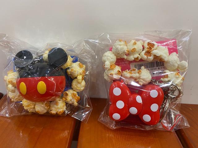 迪士尼樂園限定米奇米妮爆米花🍿️吊飾