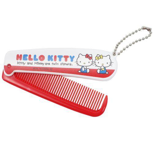 凱蒂貓 HELLOKITTY 折疊 梳子