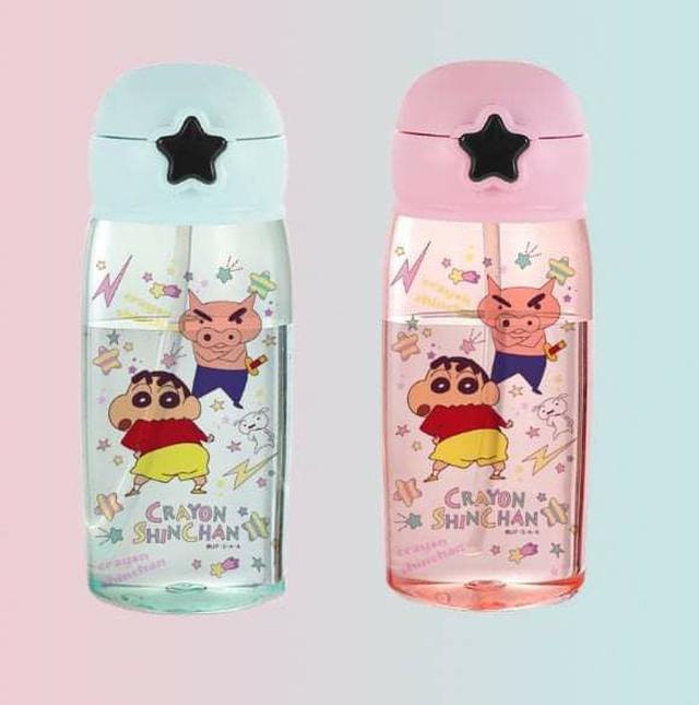 (預購S) G411 - 兒童卡通星星按壓扣彈跳吸管水杯