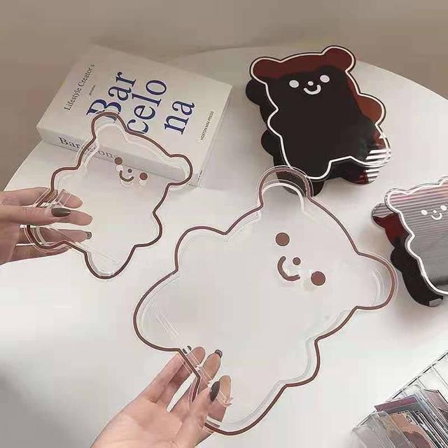 🔹ins風 多功能熊熊收納桶