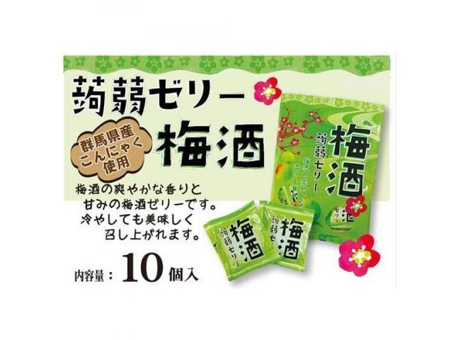 日本梅酒蒟蒻(10入)