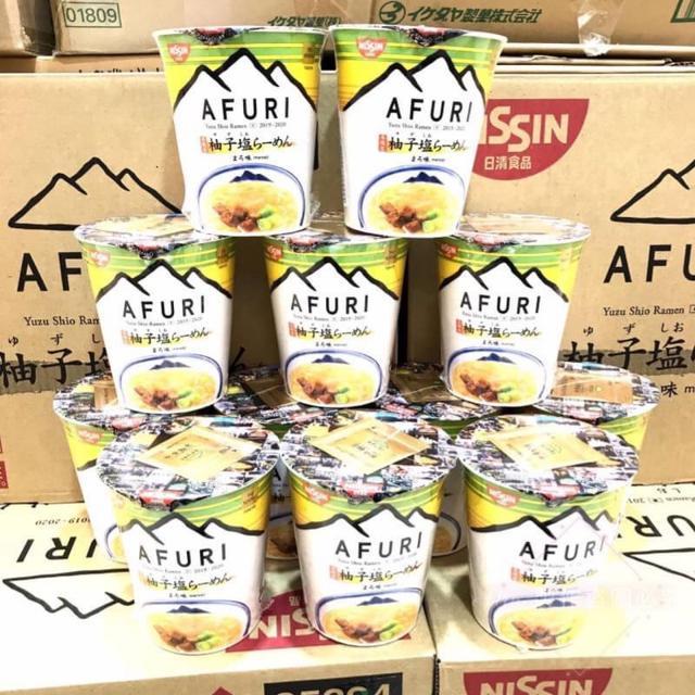 日清食品THE NOODLE TOKYO AFURI  👍🏻限定柚子塩らーめん