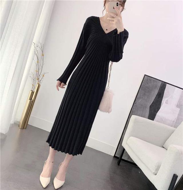 【預購】氣質針織洋裝