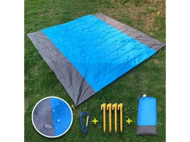 #G901 - 加大摺疊收納防水野餐墊組 #lup預購 批價:119