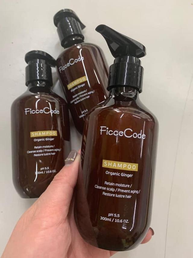 澳洲Ficce Code  PH5.5有機生薑洗髮精