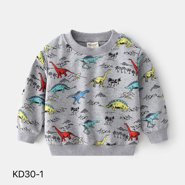 KD30-1 韓版動物卡通休閒上衣