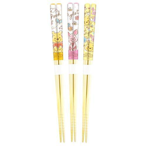 迪士尼 小熊維尼 環保筷 竹筷