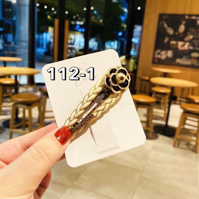 韓版新款小香風復古山茶花系列發夾氣質百搭少女邊夾網紅同款