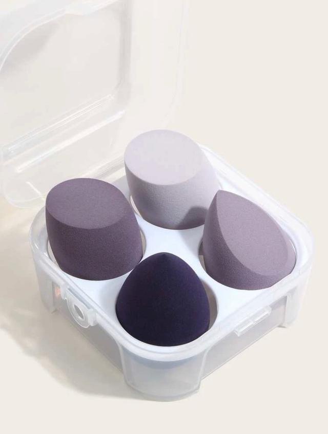 【代購】薰衣草紫美妝蛋❤️粉橘色系美妝蛋