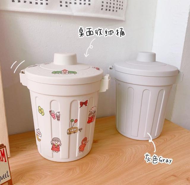 【預購】創意居家桌上型文具收納桶