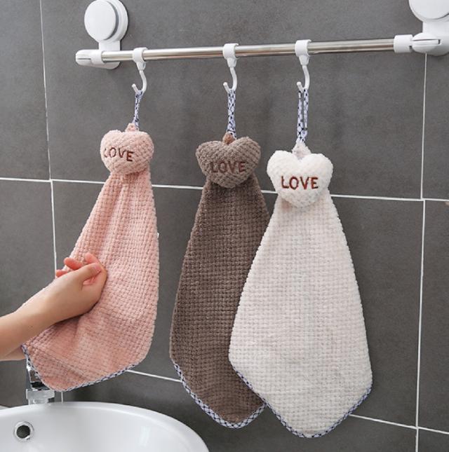 (2入)(混出)可掛式擦手巾