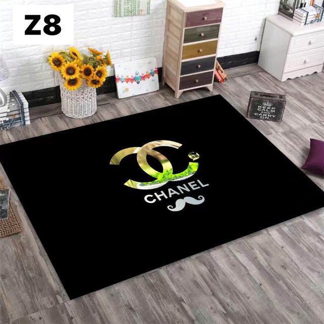 潮牌網紅地毯客廳茶几沙發毯 北歐個性臥室床邊毯房間裝飾品80×120[z1~z10]