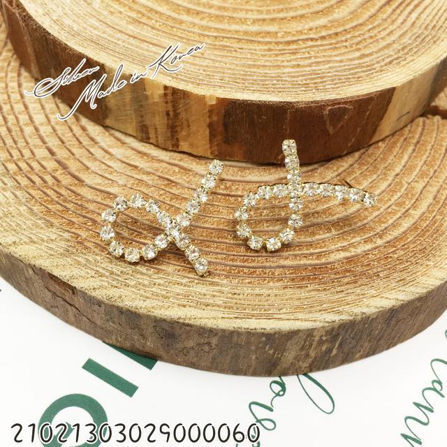 韓國925純銀珍珠水鑽氣質耳環