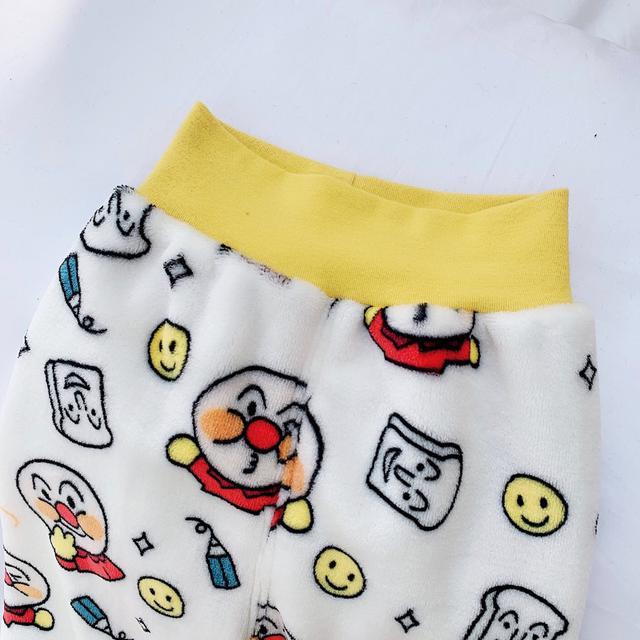雙面絨毛卡通圖案保暖睡衣