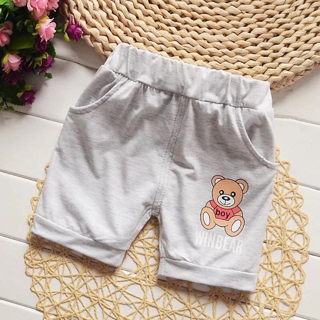 夏装2019新款男女童短裤宝宝纯棉裤1-2-3岁婴幼儿薄款热裤休闲裤0