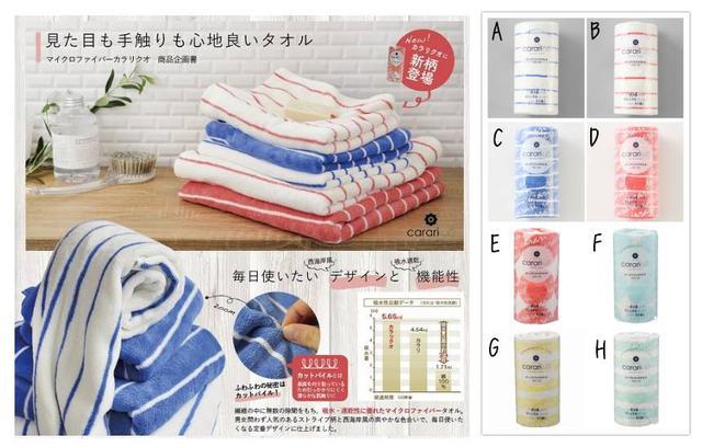 日本Carari 三倍吸水超柔軟細纖維長毛巾~