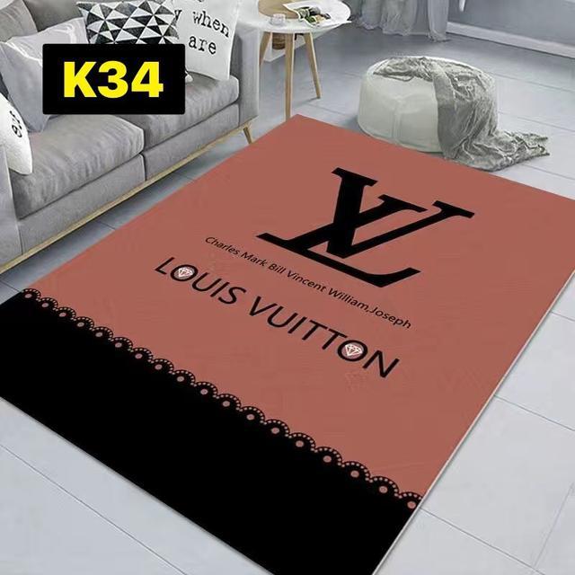 輕奢潮牌地毯客廳茶几小雛菊臥室滿鋪床邊毯服裝店衣帽間拍照地毯80×120~K21~k42