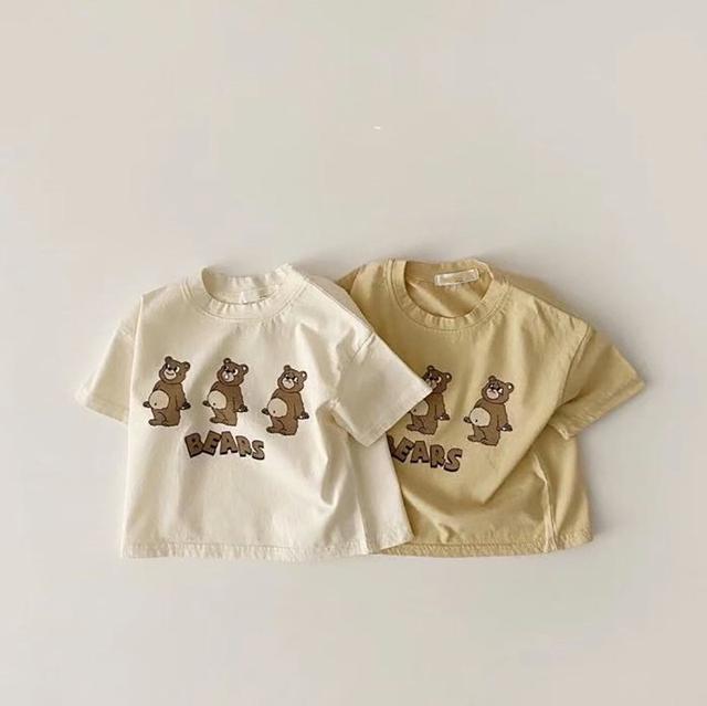 寶寶百搭短袖T恤
